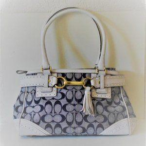 COACH Signature Hampton Handbag